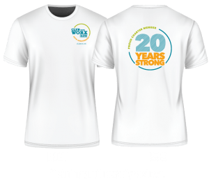 ClubWorx 20 Years Strong T-shirt