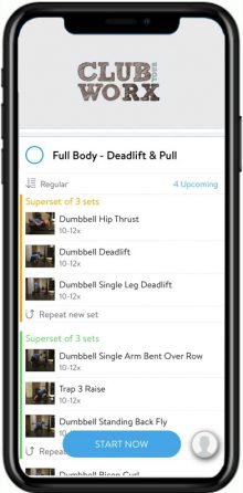 Detailed instruction on each workout and exercise